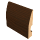Laminated Baseboard Dark Brown #2386