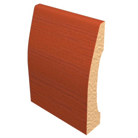 Laminated Baseboard Brazilian Cherry #3386