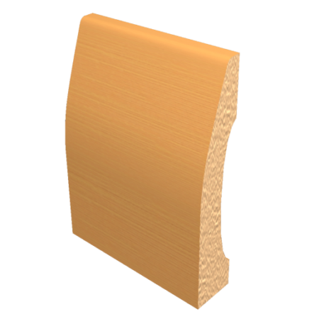 Laminated Baseboard Country Beech #3386