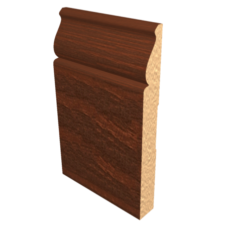 Laminated Baseboard Dark Oak #4386