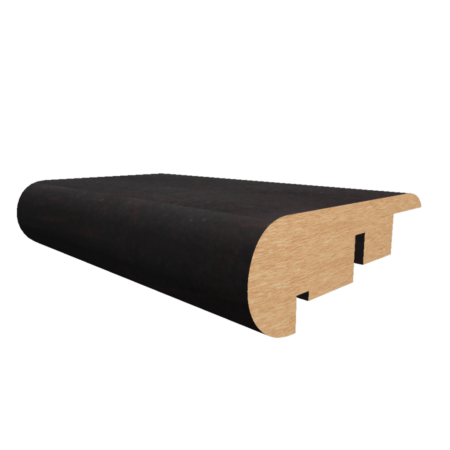 Parkay Stair Nose Ebony